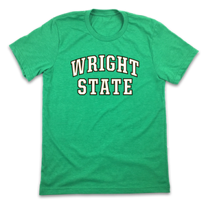 Wright State - Text Logo - Cincy Shirts