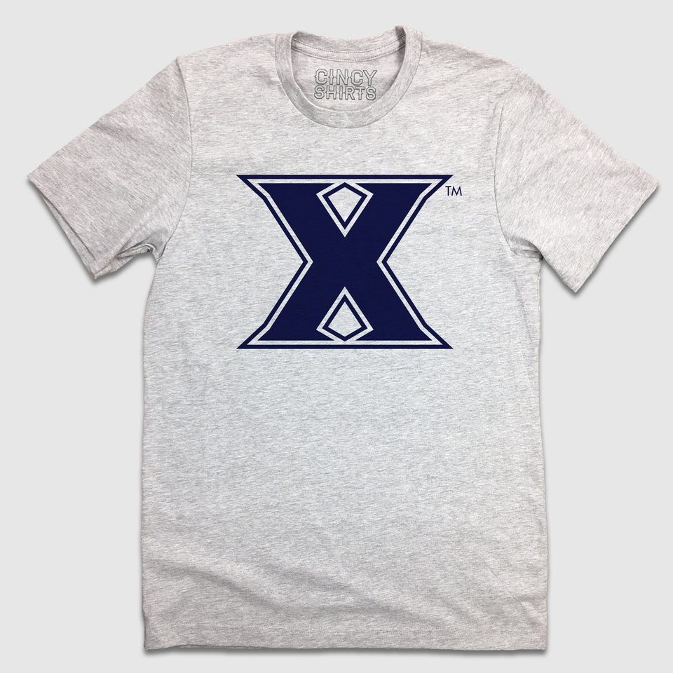 """X"" Xavier Logo - Cincy Shirts"