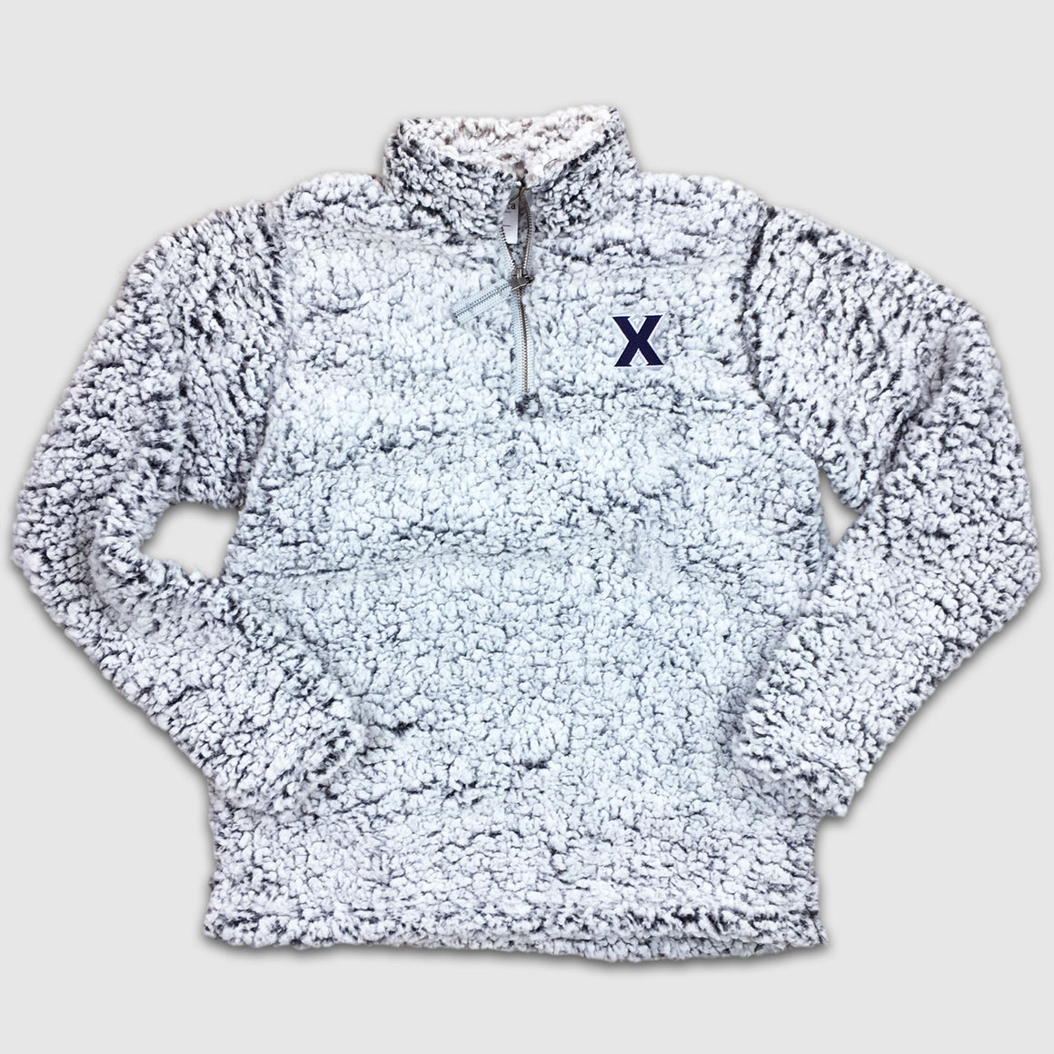 Women's Xavier University Sherpa Pullover - Cincy Shirts