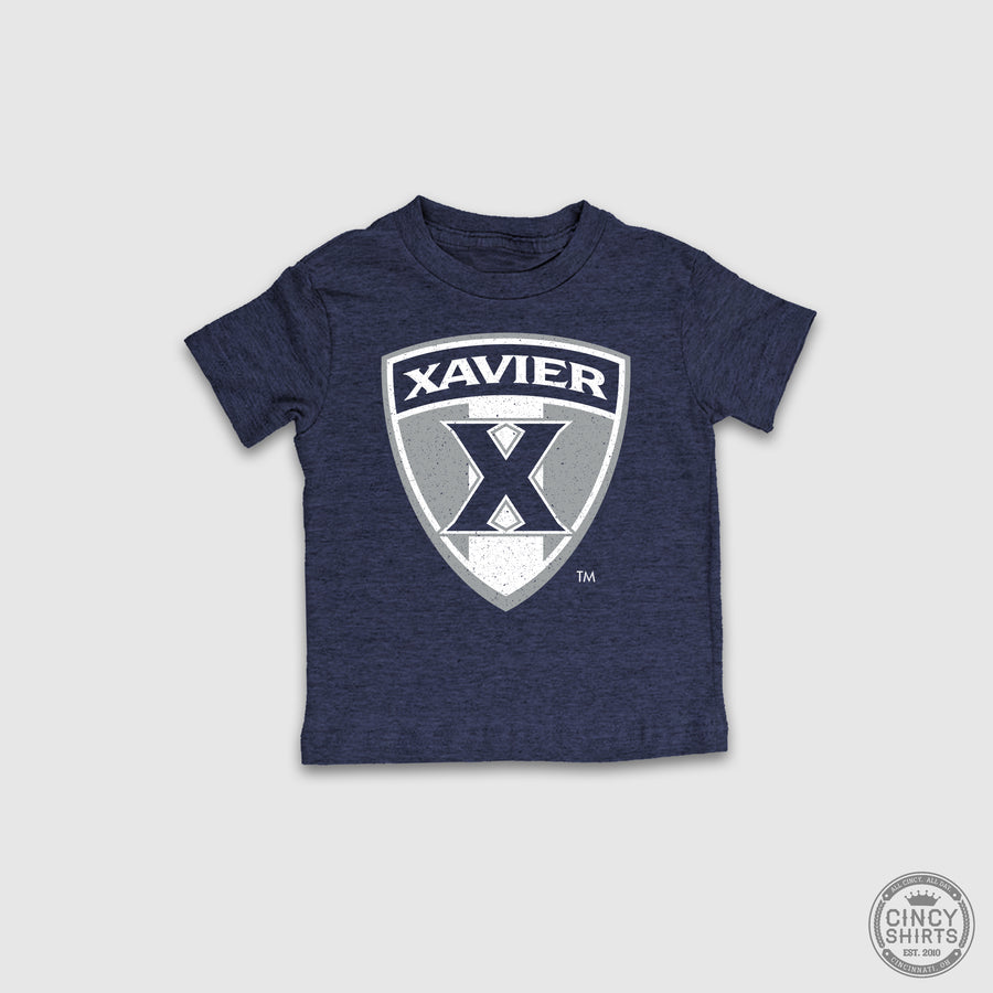 Xavier Shield - Cincy Shirts