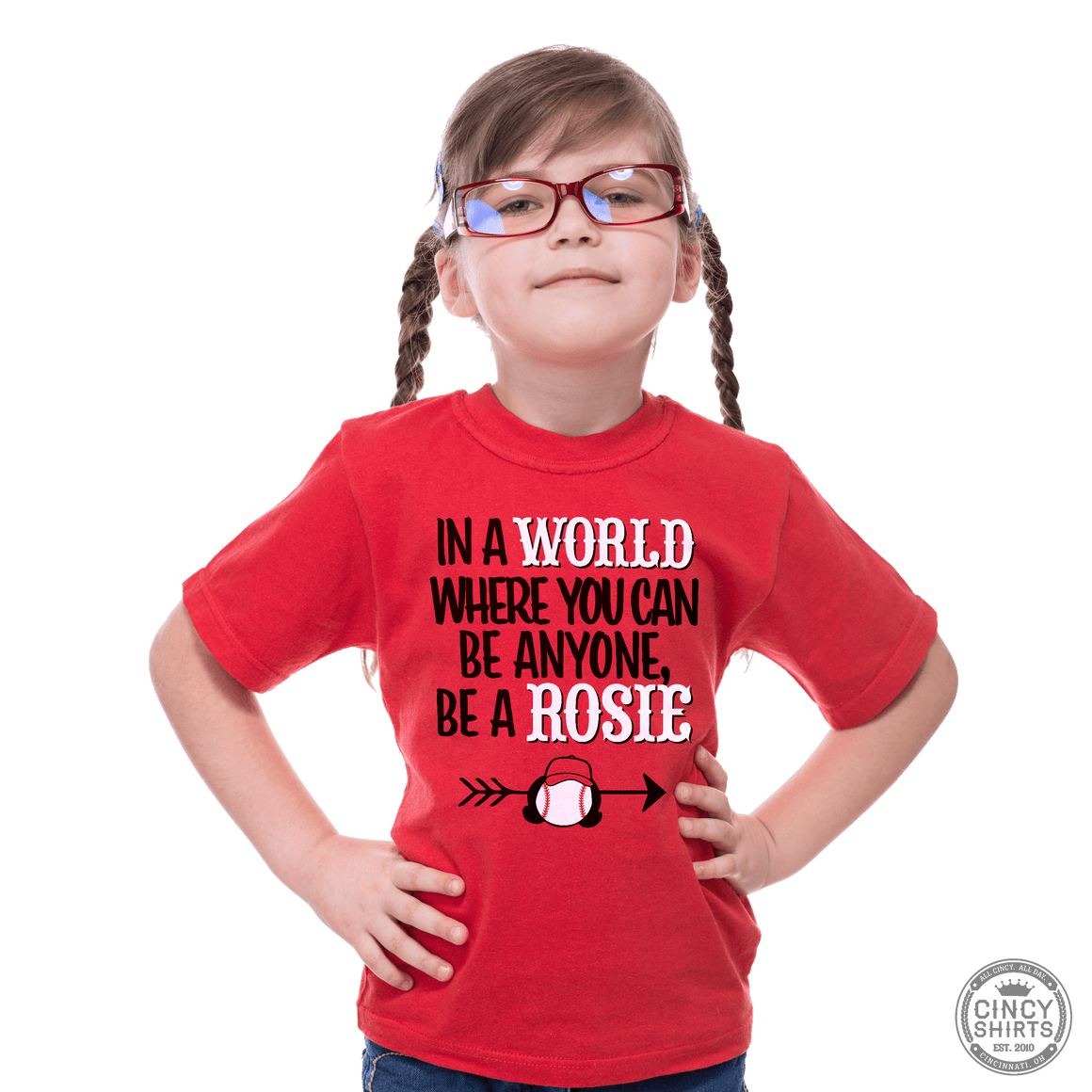 Be A Rosie - Youth Garments - Cincy Shirts