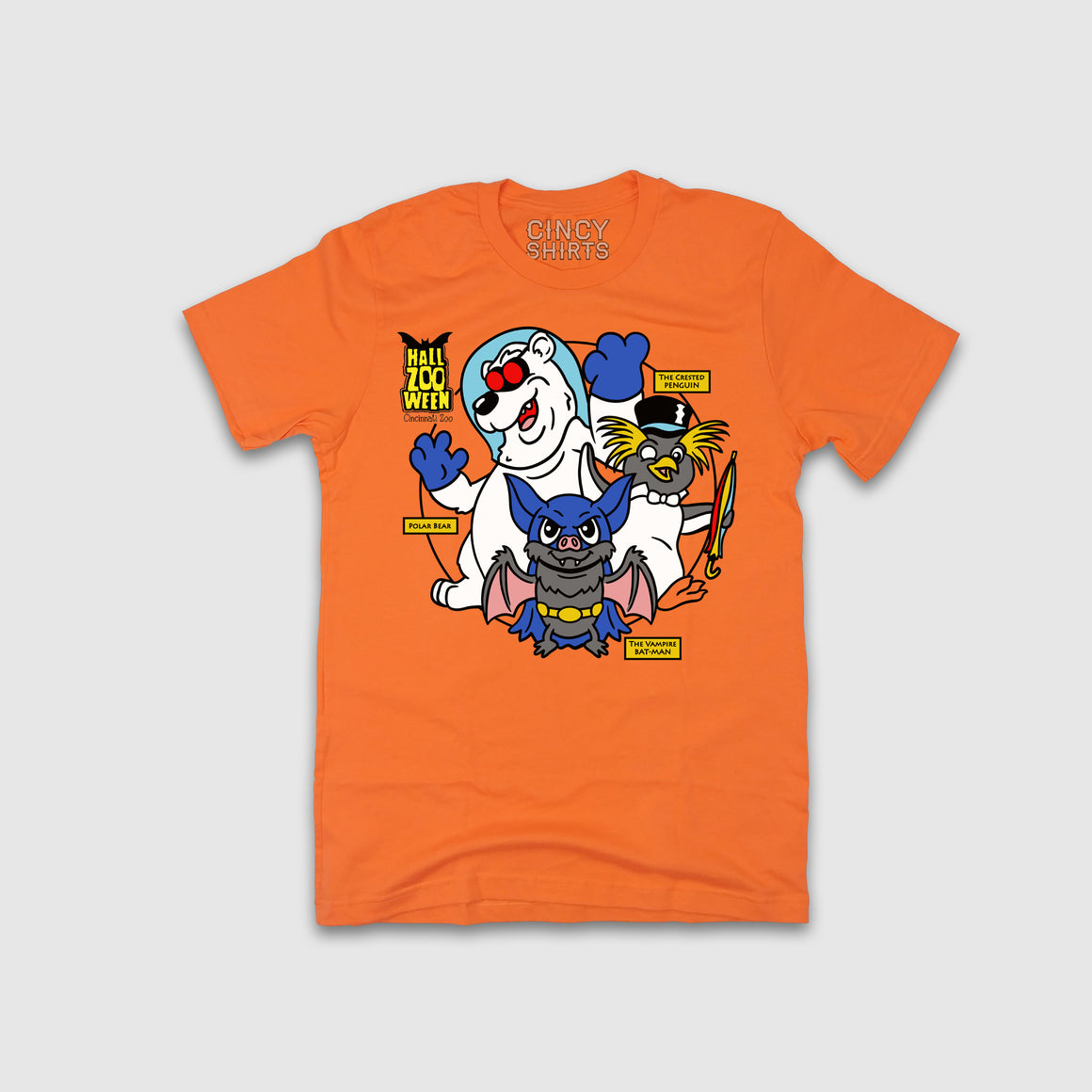 HallZOOween Action Heroes - Youth Sizes - Cincy Shirts