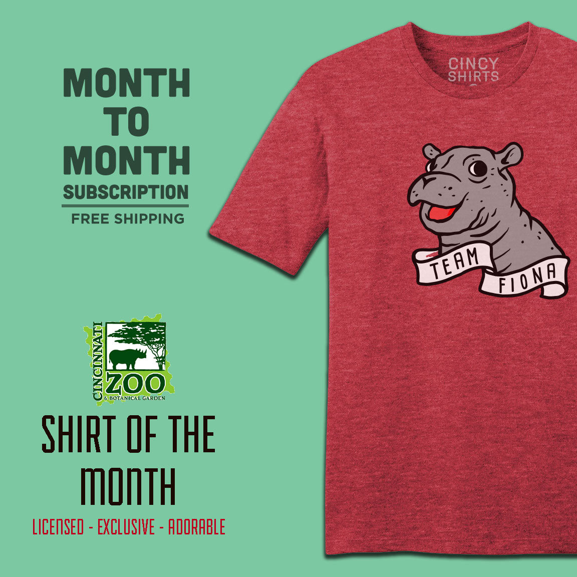Cincinnati Zoo Shirt of the Month - Cincy Shirts