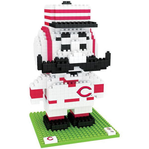 BRXLZ: CINCINNATI REDS - MR REDLEGS - 3D CONSTRUCTION SET