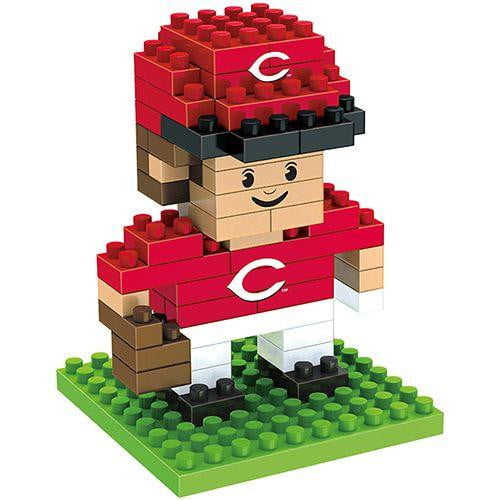 BRXLZ: CINCINNATI REDS - PLAYER - 3D CONSTRUCTION SET - Cincy Shirts