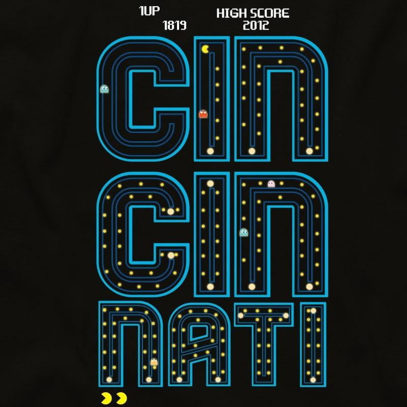 Cincinnati Pacman Unisex T-Shirt - Cincy Shirts