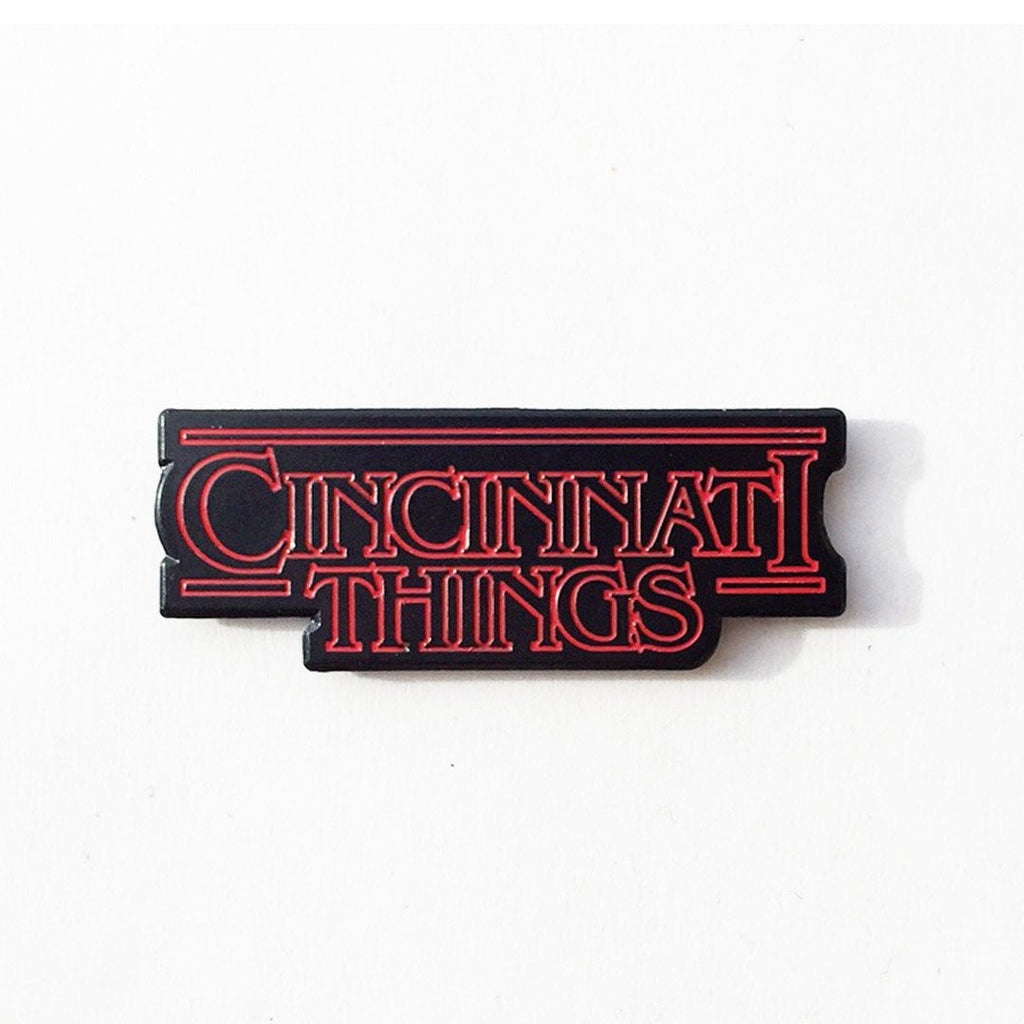 Cincinnati Things Enamel Pin