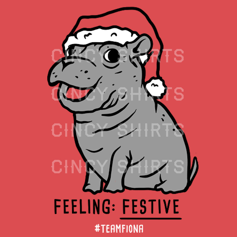 Fiona Feeling Festive Holiday Tee - Cincy Shirts