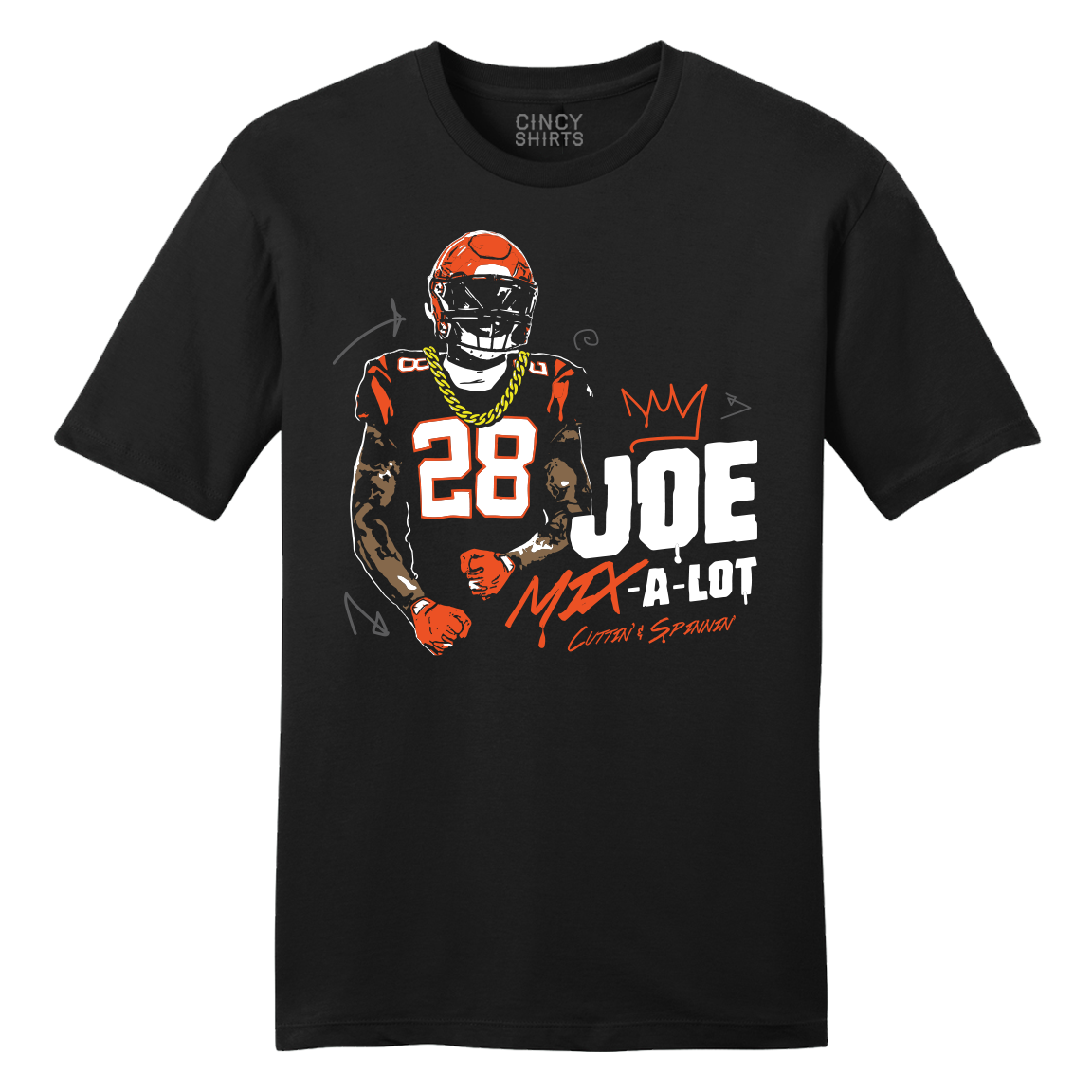 Joe Mix-a-Lot - Cincy Shirts