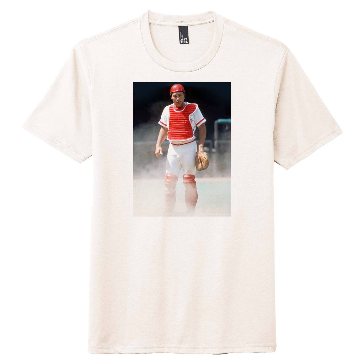 Johnny Bench Catcher Photo Tee - Cincy Shirts