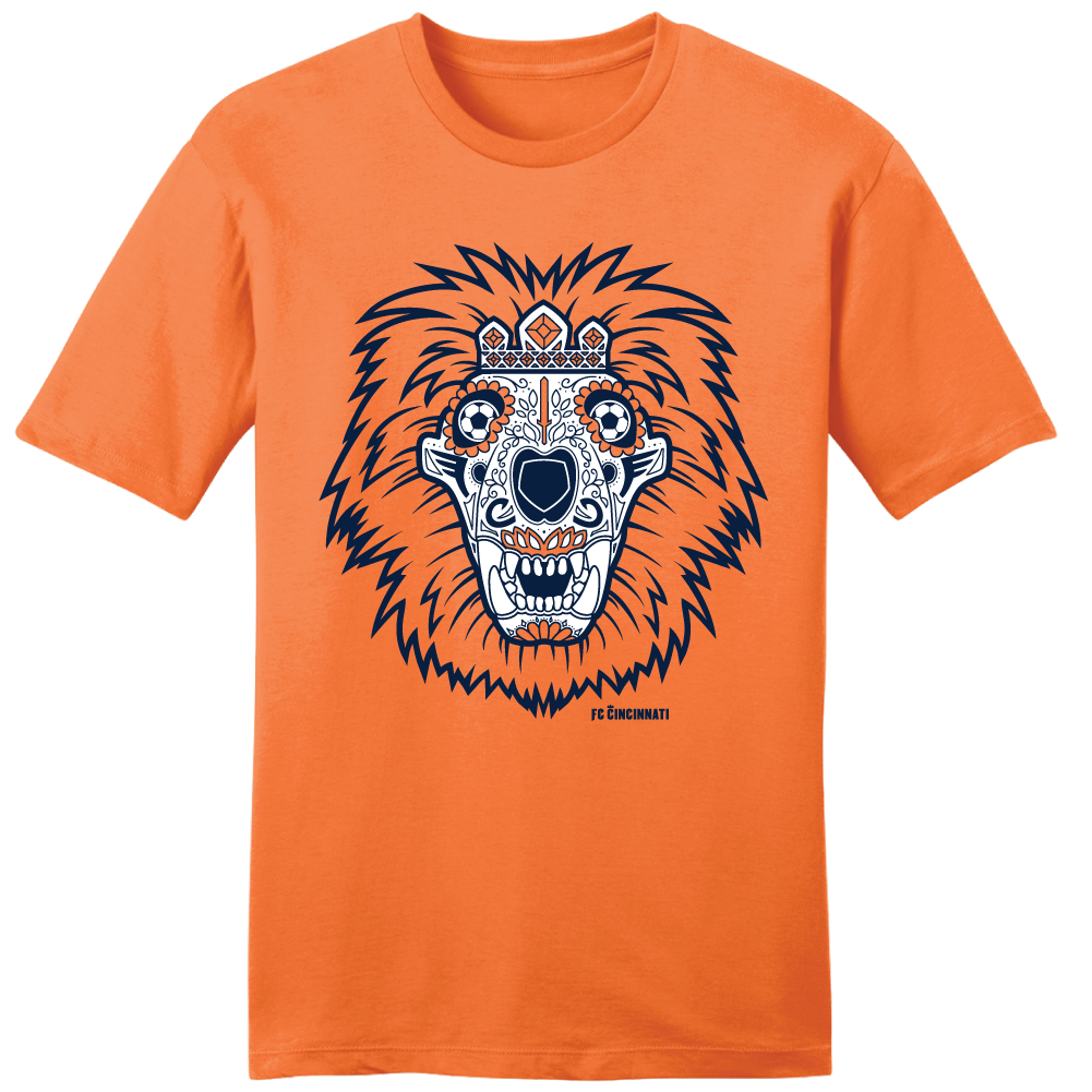 FC Cincinnati Sugar Skull - Cincy Shirts