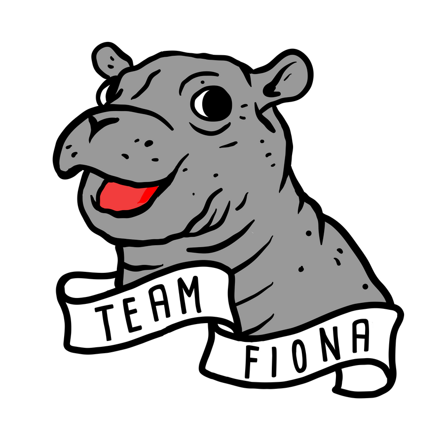 Team Fiona Temporary Tattoo