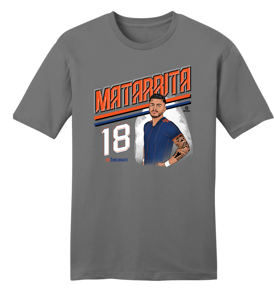Official Rónald Matarrita MLSPA Tee - Cincy Shirts