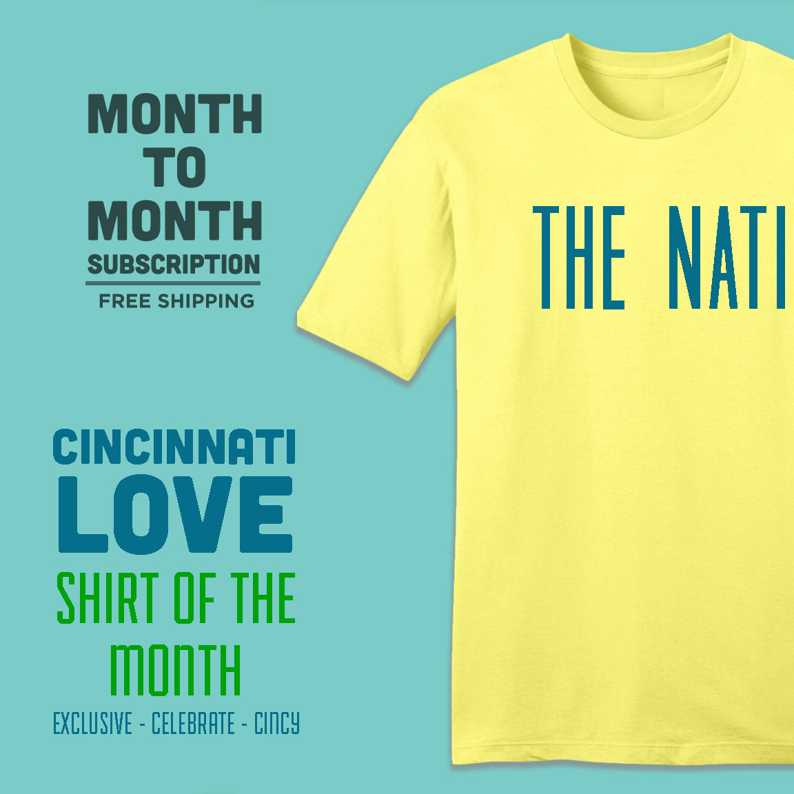 Cincinnati Love Shirt of the Month - Cincy Shirts