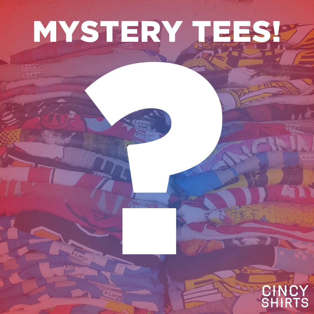 Mystery Unisex Tees - Cincy Shirts