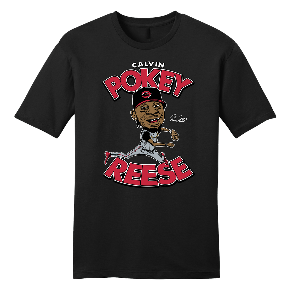 Pokey Reese Tee Black