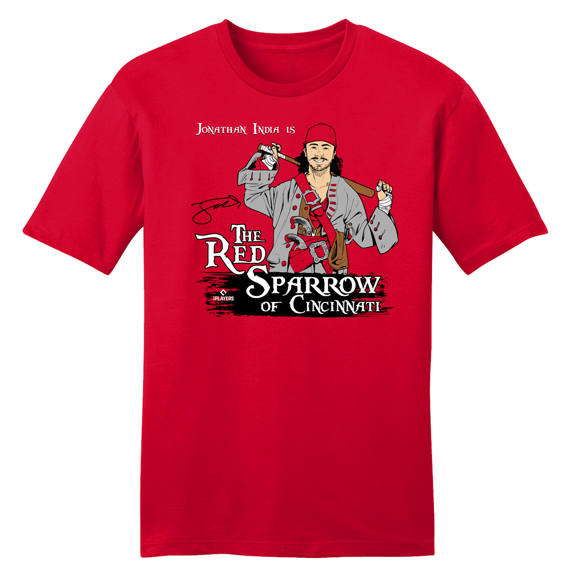 "Jonathan India ""The Red Sparrow"" - Cincy Shirts"