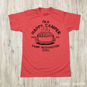 Camp Washington - Happy Camper T-shirt