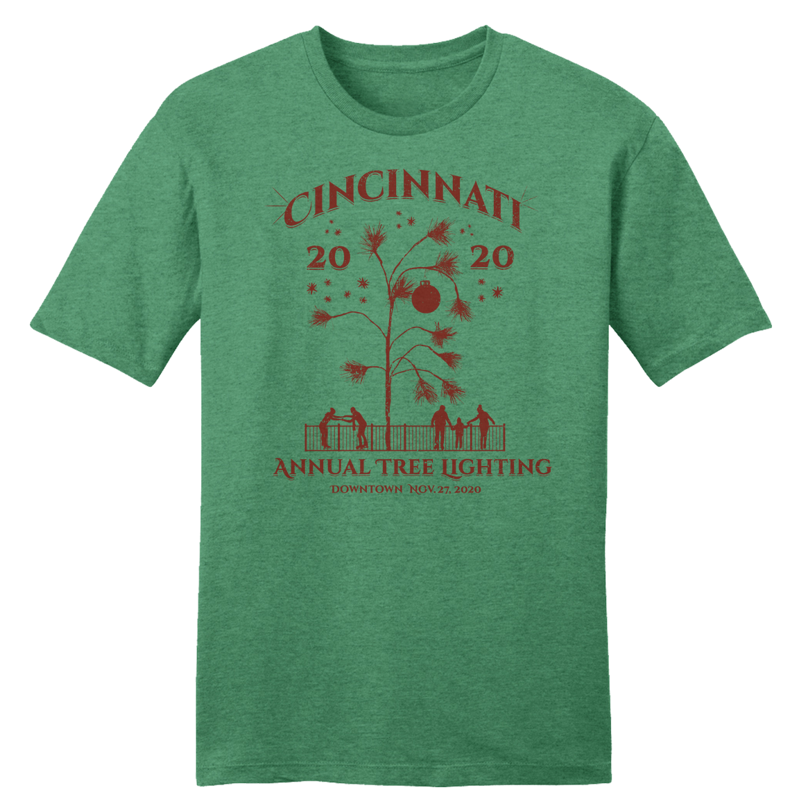 2020 Cincinnati Annual Tree Lighting - Cincy Shirts