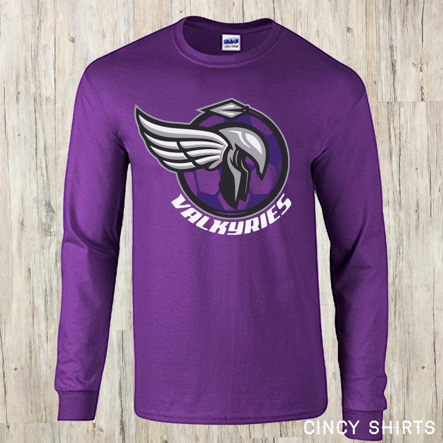 Valkyries Soccer - Cincy Shirts