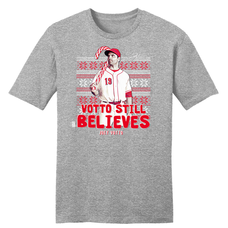 "Joey ""Votto Still Believes"" Christmas - Cincy Shirts"