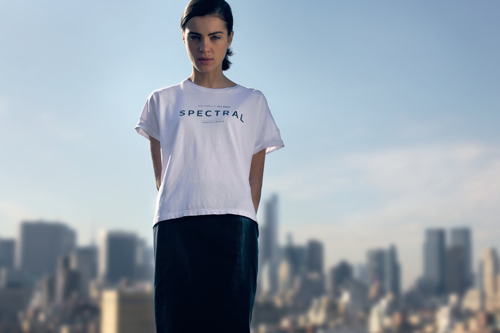 Spectral New York T-Shirt Boxy Pima Cotton