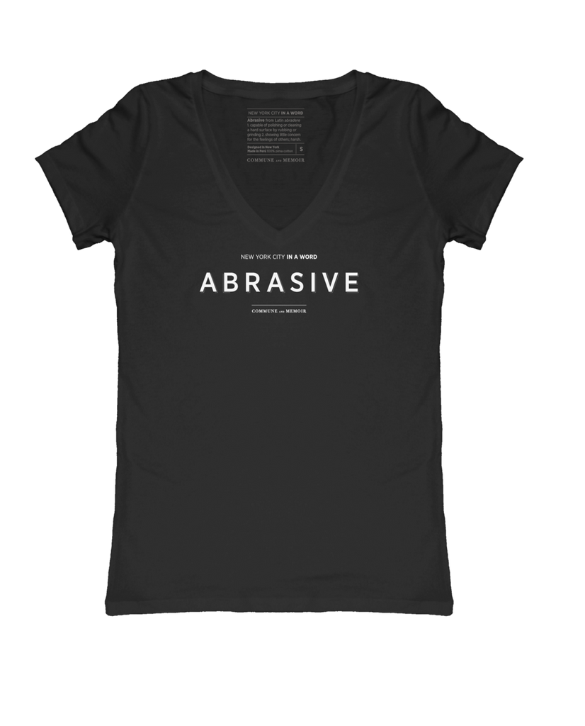 Abrasive New York - Deep V (also in white)