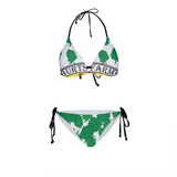 Full O' Hops Swag WOMENS ALL-OVER PRINT BIKINI