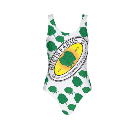 Full O' Hops Swag WOMENS ALL-OVER PRINT  ONE-PIECE SWIMSUIT