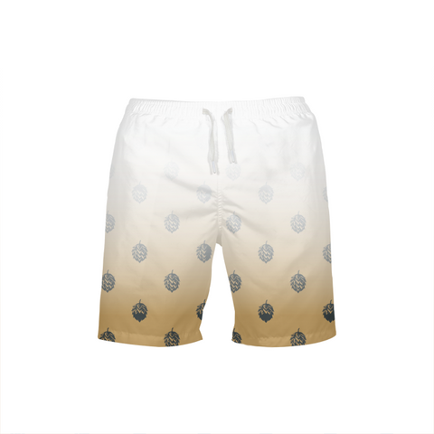 Faded Hops MENS ALL-OVER PRINT BEACH SHORTS