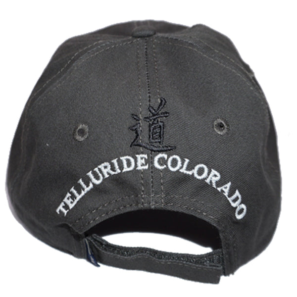 42e62d85 Jagged Edge Classic Logo Cap - Grey & White - Jagged Edge Mountain Gear