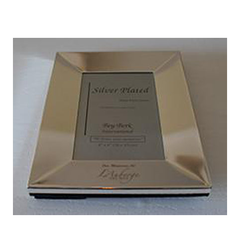 Silver Engraved L'Auberge Del Mar Picture Frame