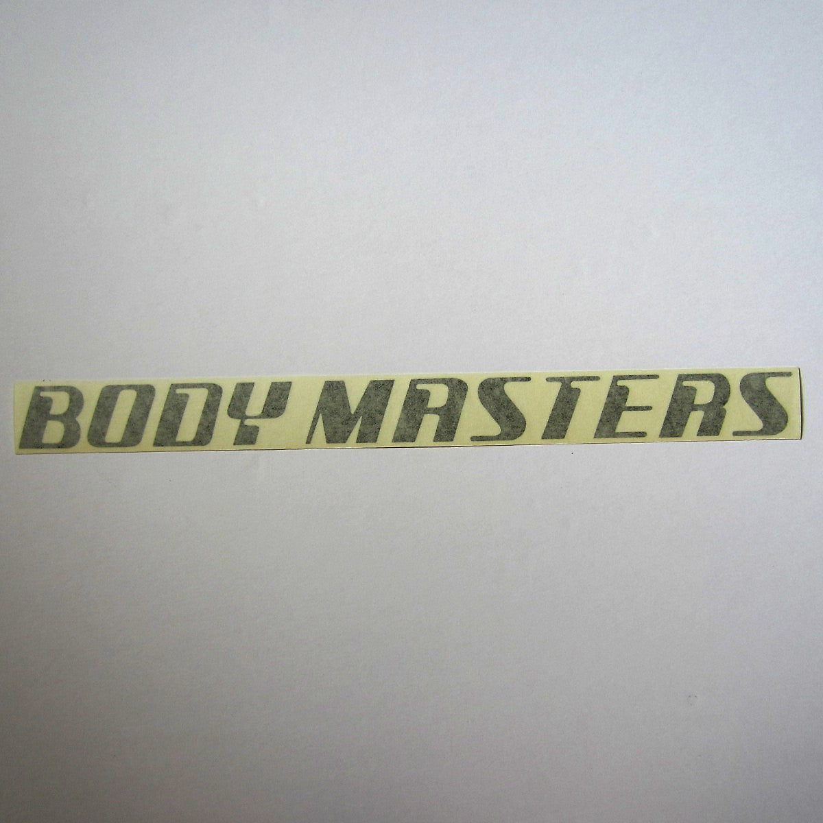 "Body Masters Frame Decal 11"" x 1"""