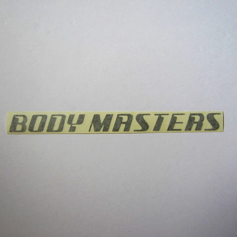 "Body Masters Frame Decal 16"" x 1"""