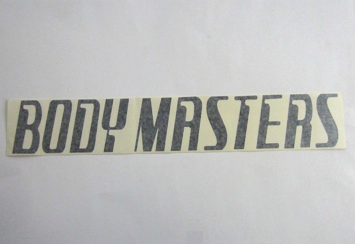"Body Masters Large Shroud Decal 24"" x 4"""