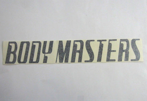 "Body Masters Large Shroud Decal 22"" x 4"""