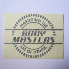 "Mastering The Art of Fitness Decal 6"" x 4"""