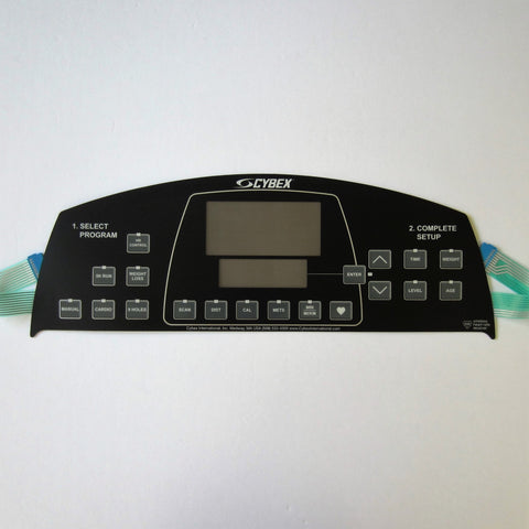 Cybex 550T Upper Display Overlay Keypad