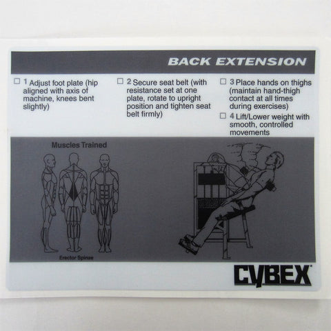 Cybex Classic Back Extension