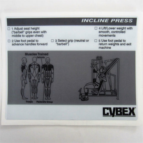 Cybex Classic Incline Press