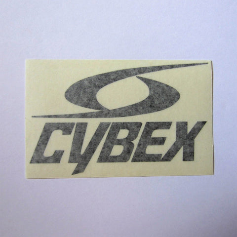 "Cybex Top Pulley Frame Decal 6"" x 3 1/2"""