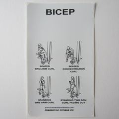 "Freemotion Bicep Curl 15"" x 9"""