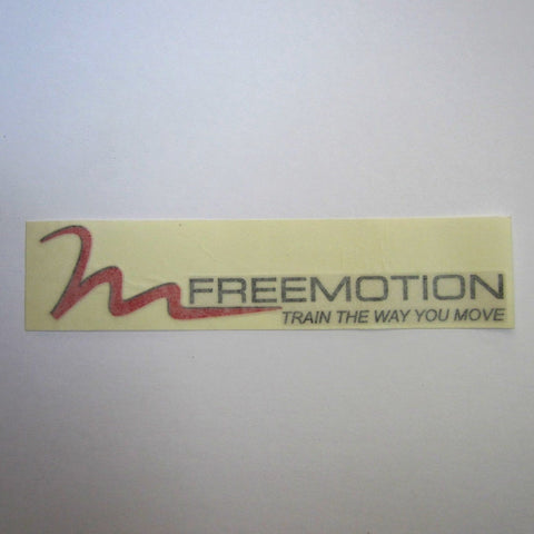 "Freemotion Decal 12"" x 3"""