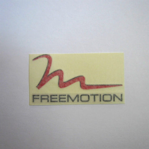 "Freemotion Decal 5-1/2"" x 3"""