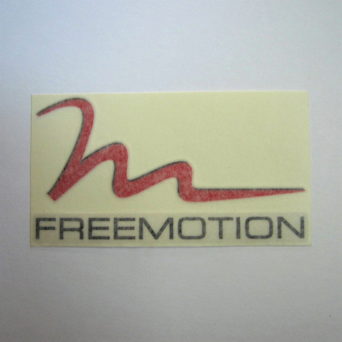 "Freemotion Decal 8"" x 4-1/2"""