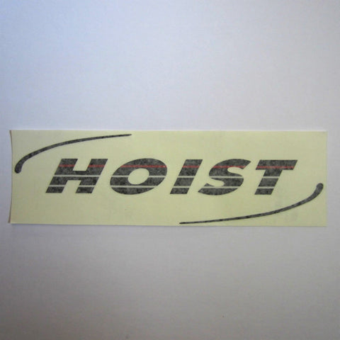 "Hoist Shroud Decal 14"" x 4"""