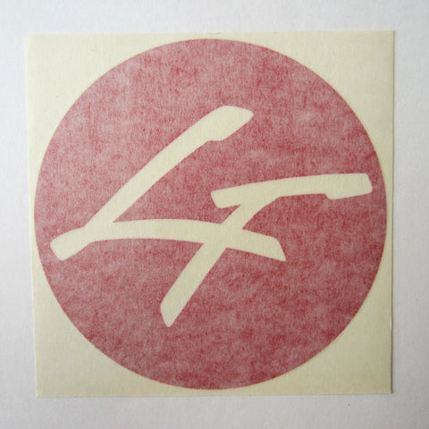 Life Fitness Shroud Decal Red 6""