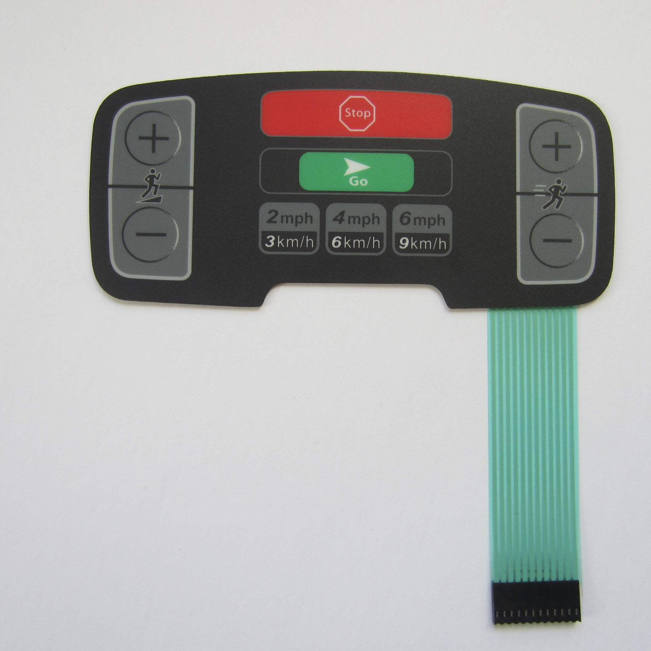 Life Fitness 95T Activity Zone Overlay & Keypad 12 Pin