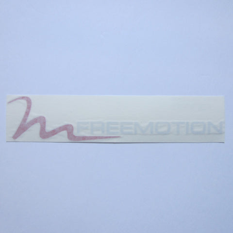 "Freemotion Decal Red & White 10"" x 2"""
