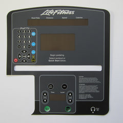 Life Fitness CLSX-PF Crosstrainer Display Overlay